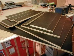 Ausgangsmaterial 19mm Siebdruckplatten